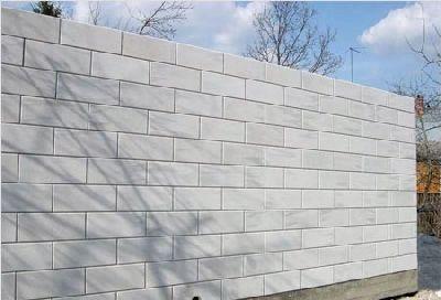 Стена их газосиликатных блоков